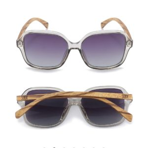 Scarlett Grey Mist Sunglasses By SOEK