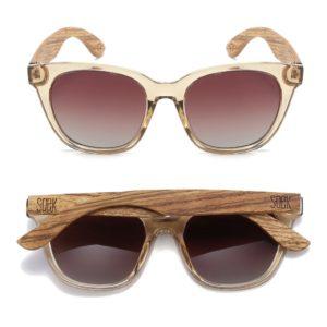 Lila Grace Champagne Sunglasses By SOEK