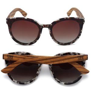 Bella Ivory Tortoise Sunglasses By SOEK