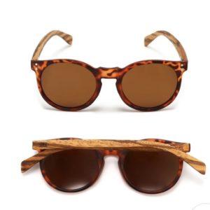 Noosa Tortoise Walnut Sunglasses By SOEK