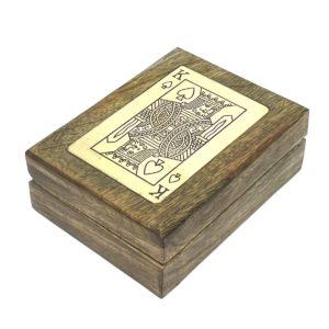 King Of Hearts Card Box