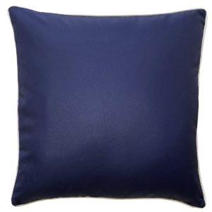 Plain Navy Outdoor Cushion