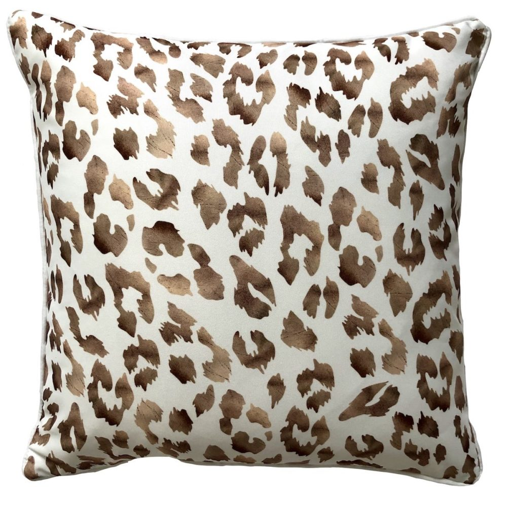 Safari White Outdoor Cushion