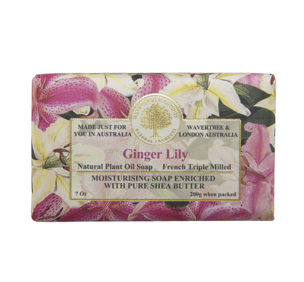 Ginger Lily Soap