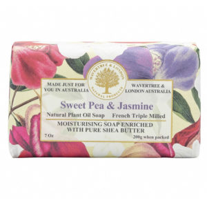 Sweet Pea And Jasmine Soap