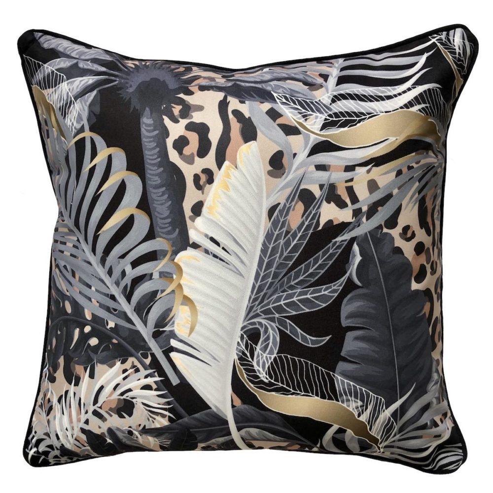 Wilde Black Outdoor Cushion