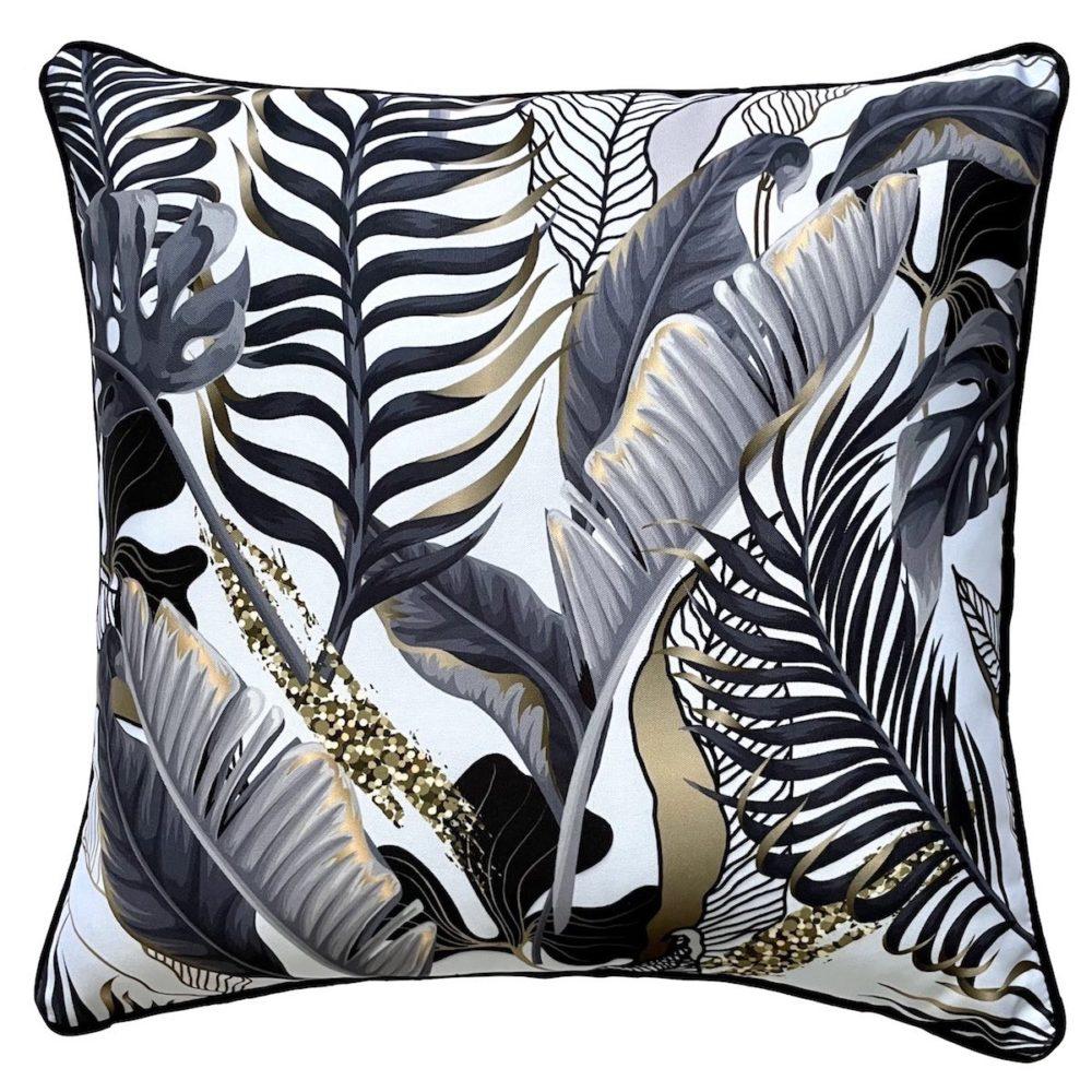 Wilde White Outdoor Cushion