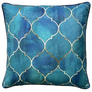 Casablanca Turquoise Outdoor Cushion