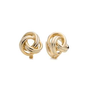 Knotted Twist Earring Mezi