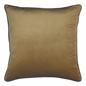 Clifton Wheat Velvet Cushion