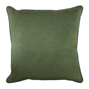 Clifton Olive Velvet Cushion