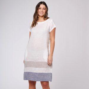 Connie Dress White Alessandra