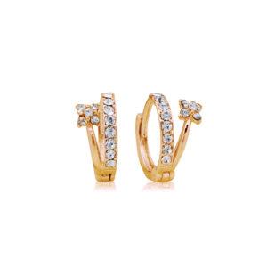 Engagement Band Crystal Earring Mezi