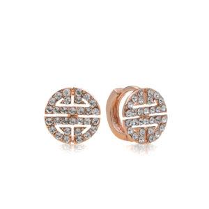 Crystal Signet Earring Mezi