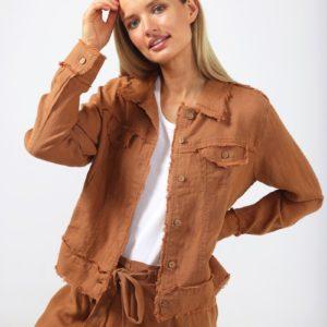 Monza Jacket Tan Shanty Corporation