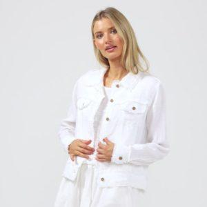 Monza Jacket White Shanty Corporation