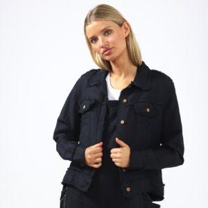 Monza Jacket Black Shanty Corporation